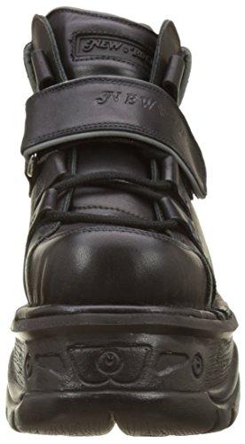 New Rock M-1077-s5, Bottes Rangers Mixte Adulte Noir (Black)
