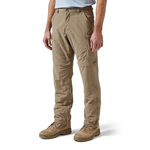 Preisvergleich Produktbild Craghoppers Mens NosiLife Convertible Trousers Extra Long Leg Pebble (36IN)