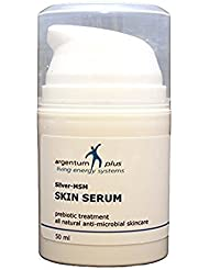 Silber-MSM Haut Serum 50 ml - Anti-mikrobielle Hautpflege mit probiotischer Wirkung