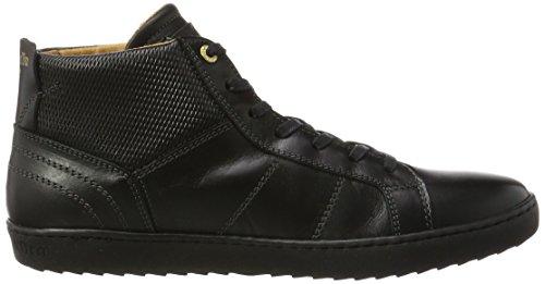 Pantofola d'Oro Herren Canaverse Uomo Mid Hohe Sneaker Schwarz (Triple Black)
