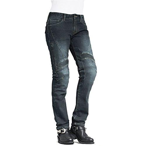 ke Motorrad Kevlar Jeans 608blau ()