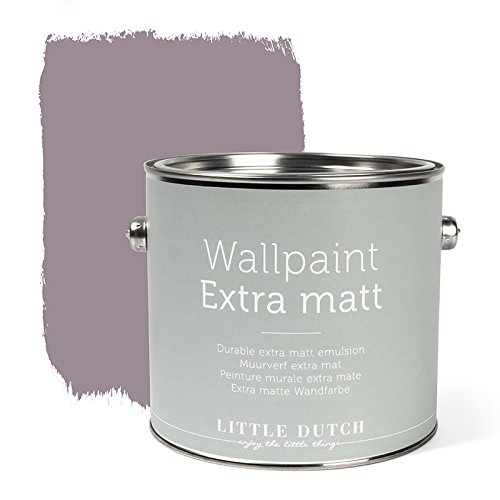 LITTLE DUTCH 8709 Wandfarbe matt vintage mauve 2,5 Liter