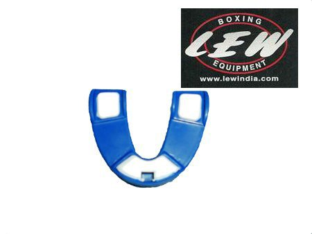LEW Deluxe Mouth Guard- Blue & White With Box  available at amazon for Rs.109