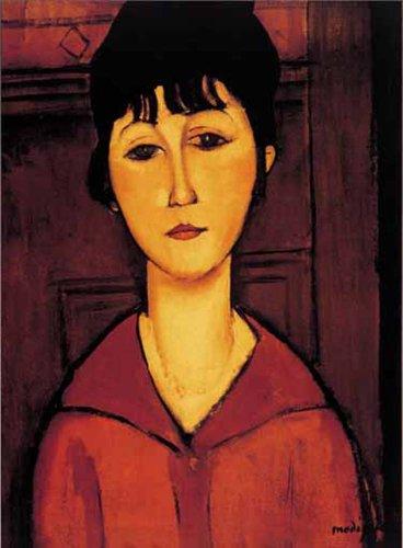 Editions Ricordi 0801N15697-Black Modigliani Tete de Jeune Fille Puzzle de 1000Piezas
