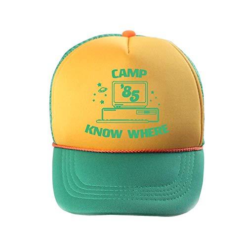 FXSYL Unisex cap Stranger Things cap Summer Mesh Berretto da Baseball Regolabile pap/à Cappelli Trucker Hat cap Cosplay Stranger Things