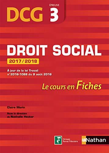 47fedd026ea Droit social 2017 2018 - DCG 3 - Fiches
