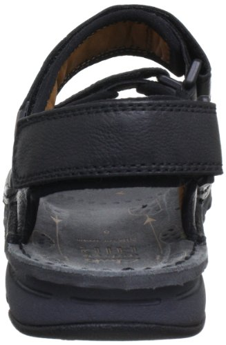 Clarks Atl Part, Sandales homme Noir (Black Leather)