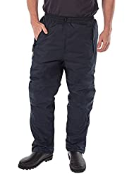Regatta Wetherby Insulated Overtrousers, Navy, XXL (38/33)