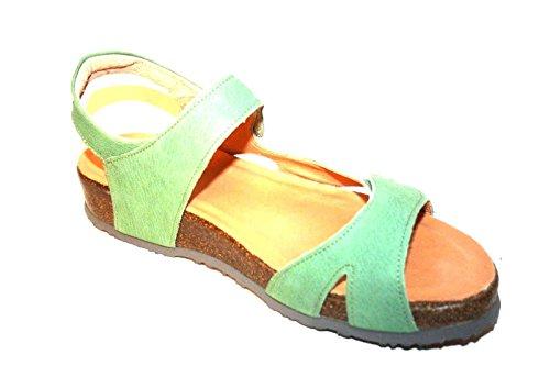 Think! - Scarpe con cinturino alla caviglia Donna Verde