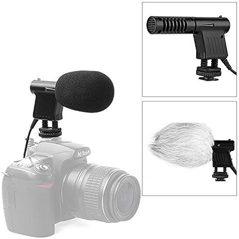 BOYA BY-VM01 mini Vídeo Profesional & Emisión Direccional Micrófono de Condensador para Canon 60D 7D 70D 550D 600D Nikon D800 D800E D600 Canon DSLR videocámara