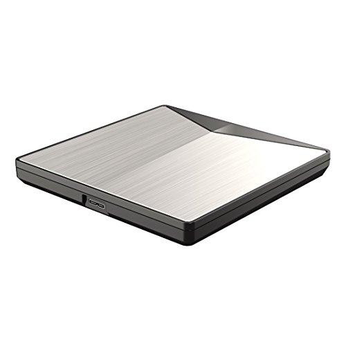 Swiftswan Ultra-Slim externes DVD-Laufwerk USB3.0 Laufwerk für PC für Mac DVD + wiederbeschreibbar