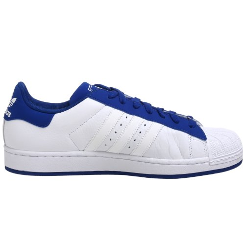 Adidas Originals Superstar II Schuhe, weiÃ? / weiÃ? / royal, 11. 5 M Us White/White/Royal