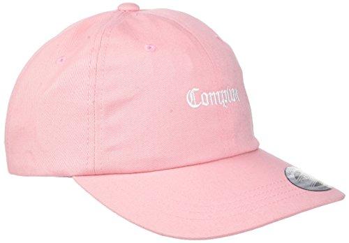 Mister Tee Compton Dad Cap Kappe pink