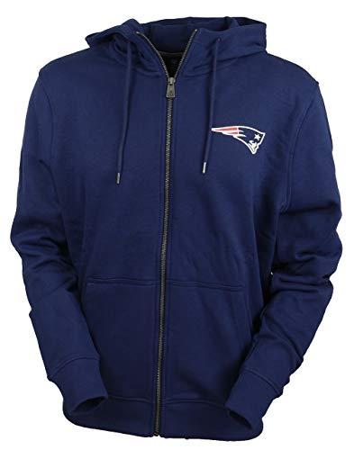 A NEW ERA Era England Patriots Zip Hoody Team Apparel NFL Established  Number Navy - XS 36835c1dd