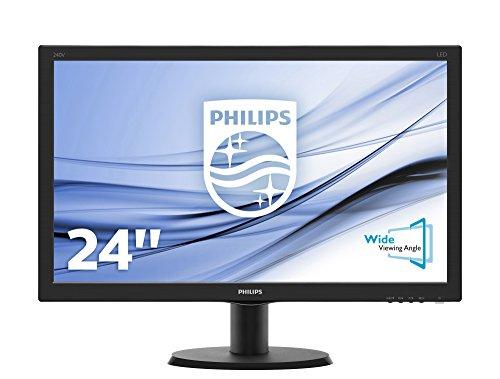 Philips V-line 240V5QDSB 24-Inch LED Monitor
