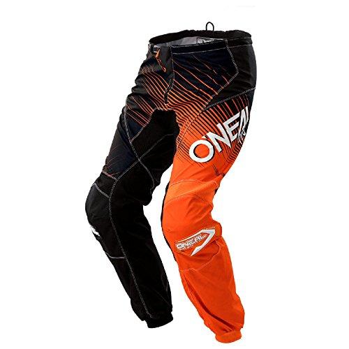 O\'Neal Element Racewear Motocross Kinder Hose MX Enduro Offroad Motorrad Quad Cross Kids Pants, 0108, Farbe Orange, Größe 26