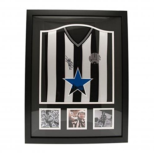 Kevin-Keegan-Framed-Signed-Replica-Newcastle-United-Shirt