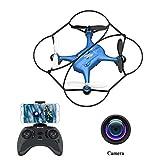 ATOYX AT-96 Drone avec Caméra HD FPV Drone Enfant WiFi Hélicoptère Télécommande...