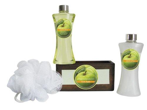 Grüner Apfel Schaumbad (Wellness Set und Geschenk-Set