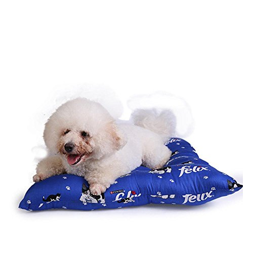 MARCU Home Pet Bolster Hundebett Komfort Baumwolle Vier Seiten Pet Nest warm Kennel Hundematte, 60cm * 60cm (Marcus Seite)