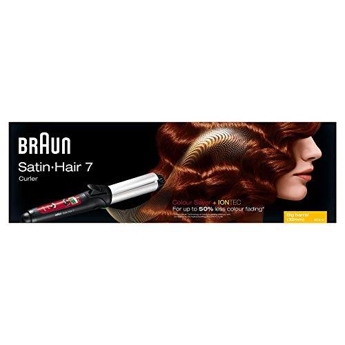 Braun Satin Hair 7 Lockenstab CU750, mit IonTec und Colour Saver Technologie