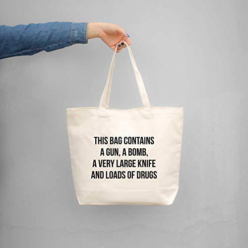 Shopaholic Einkaufstasche mit Aufschrift