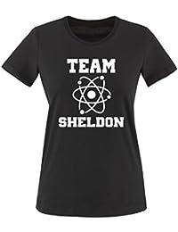 THE BIG BANG THEORY - TEAM SHELDON Damen Frauen T-Shirt by Gr. XS bis XXL vers. Farben