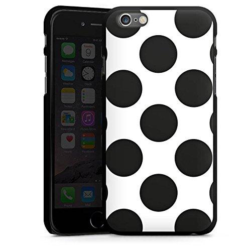 Apple iPhone SE Housse Outdoor Étui militaire Coque Points Pois Rockabilly CasDur noir