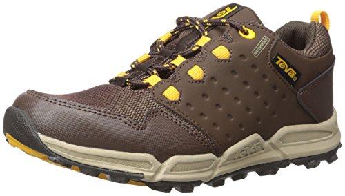 Teva Jungen Wit Trekking-& Wanderhalbschuhe, Braun (Chocolate/Yellow-Cylwchocolate/Yellow-Cylw), 38/39 EU