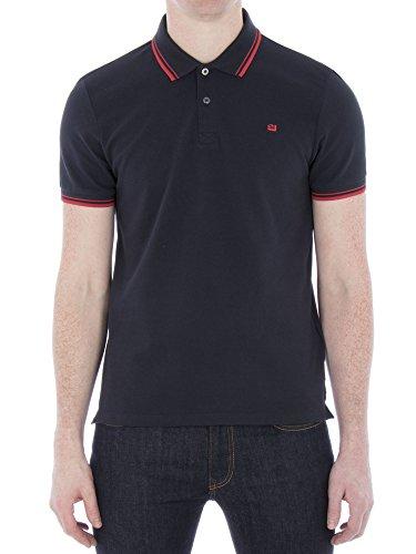 Ben Sherman Herren Poloshirt Romford Polo Blau (Staples Ef5)
