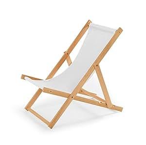 Chaise longue de jardin en bois fauteuil relax chaise de plage wei jardin - Chaise longue en anglais ...
