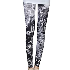 Femmes Leggings Sexy Girl jeggings Sexy journal voiture de gris