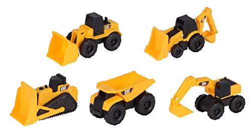 Cat-toy State (Toy State Caterpillar Construction Mini Machine 5-Pack (Styles May Vary))