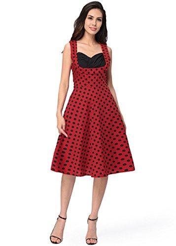 Ruiyige Damen Kleid Rot