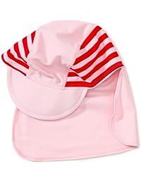 Playshoes Unisex - Baby Babybekleidung/ Badebekleidung UV-Schutz nach Standard 801 und Oeko-Tex Standard 100 Bademütze mit Streifen 460049