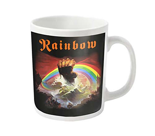 rainbow-tasse-a-cafe-rising-band-logo-ritchie-blackmore-nouveau-officiel-blanc