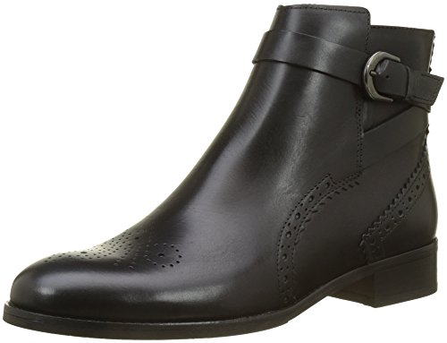 Clarks Women's Netley Olivia Chelsea Boots, Black (Black Leather),4.5 UK (37.5 EU)