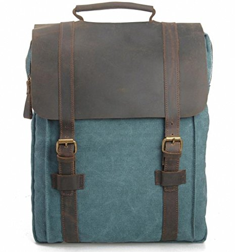 Lixmee - Borsa a Zainetto donna _04 Lake Green