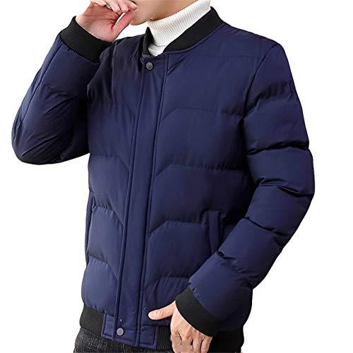 Männer Kurzmantel Mann Junge Taste Langarm Outwear Herbst Und Winter Neue Art Verdickt Kragen Mode Trend Mantel Moonuy -