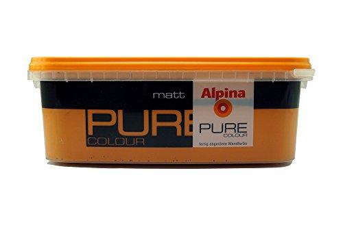 ALPINA Pure Colour, 2,5 L. Wandfarbe, Terra Matt Ausreichend für ca. 20-25 m2 -
