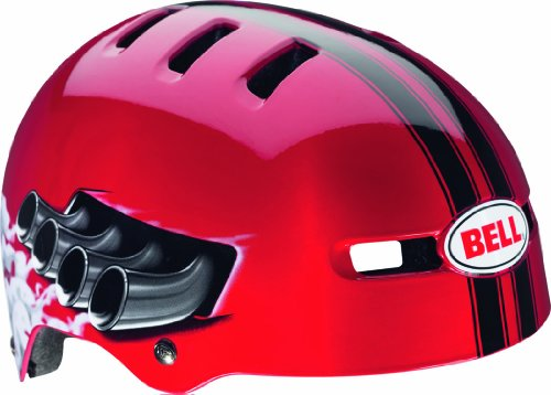 Bell Kinder Fahrradhelm Fraction Red Daytona, 48-53