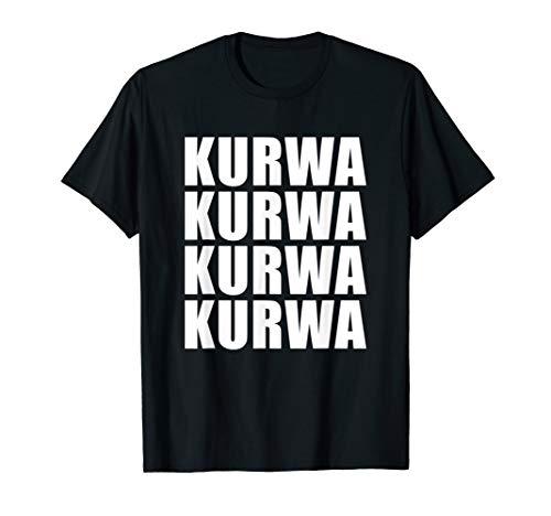 Polen Halloween Kostüm - Kurwa shirt Polen Polnisch Slang