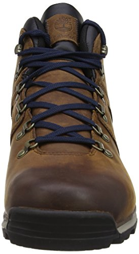 Timberland Ek Gt Scramble Mid Leather Waterproof, Chaussures de randonnée montantes homme Marron