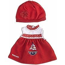 Vestido y gorro rojos (Famosa) (700013822)