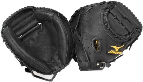 Mizuno Supreme gxc94Jugend Catcher 's Mitt (33.5-inch), 311454, Schwarz, 33.5 inches -