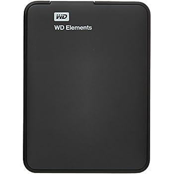WD Elements 1TB USB 3.0 Portable External Hard Drive (Black)
