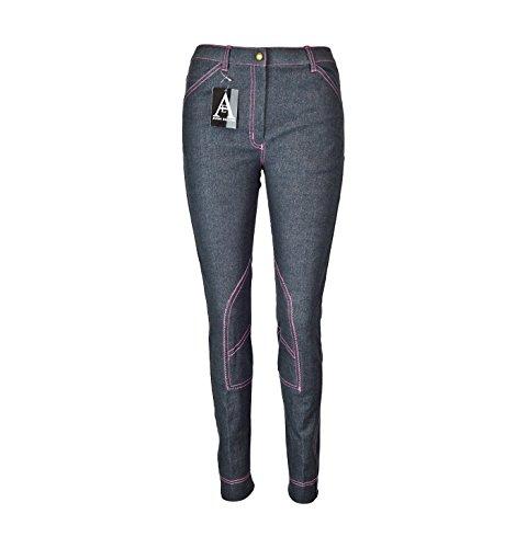 Damen Reithose Jeans Weich Stretch - 40/W30