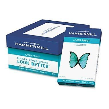 3 X Hammermill Laser Print, 24lb 8-1/2 x 14 Inch, 98 Bright, 500 Sheets/1 Ream (104612) by Hammermill (Print Lb 24 Laser Hammermill)