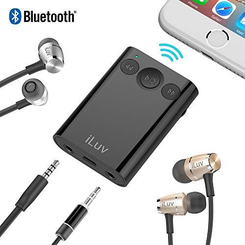 Iluv Bluetooth Audio Konverter mit Splitter-Schwarz -