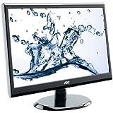 AOC E2250SWDAK 21.5 inch Widescreen Multimedia LED Monitor (1920x1080, 5ms, VGA, DVI, 1000:1, i-Menu, e-Saver)